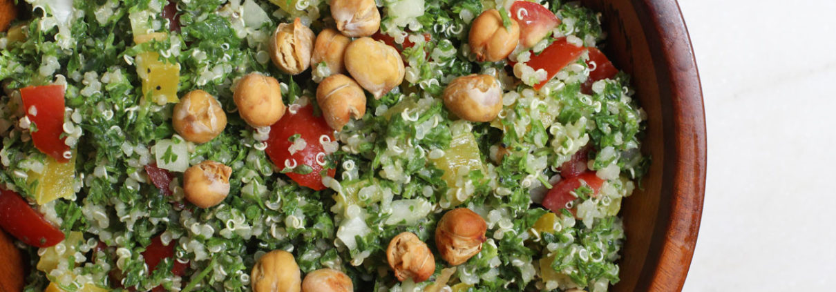 Vegan oil-free tabouli