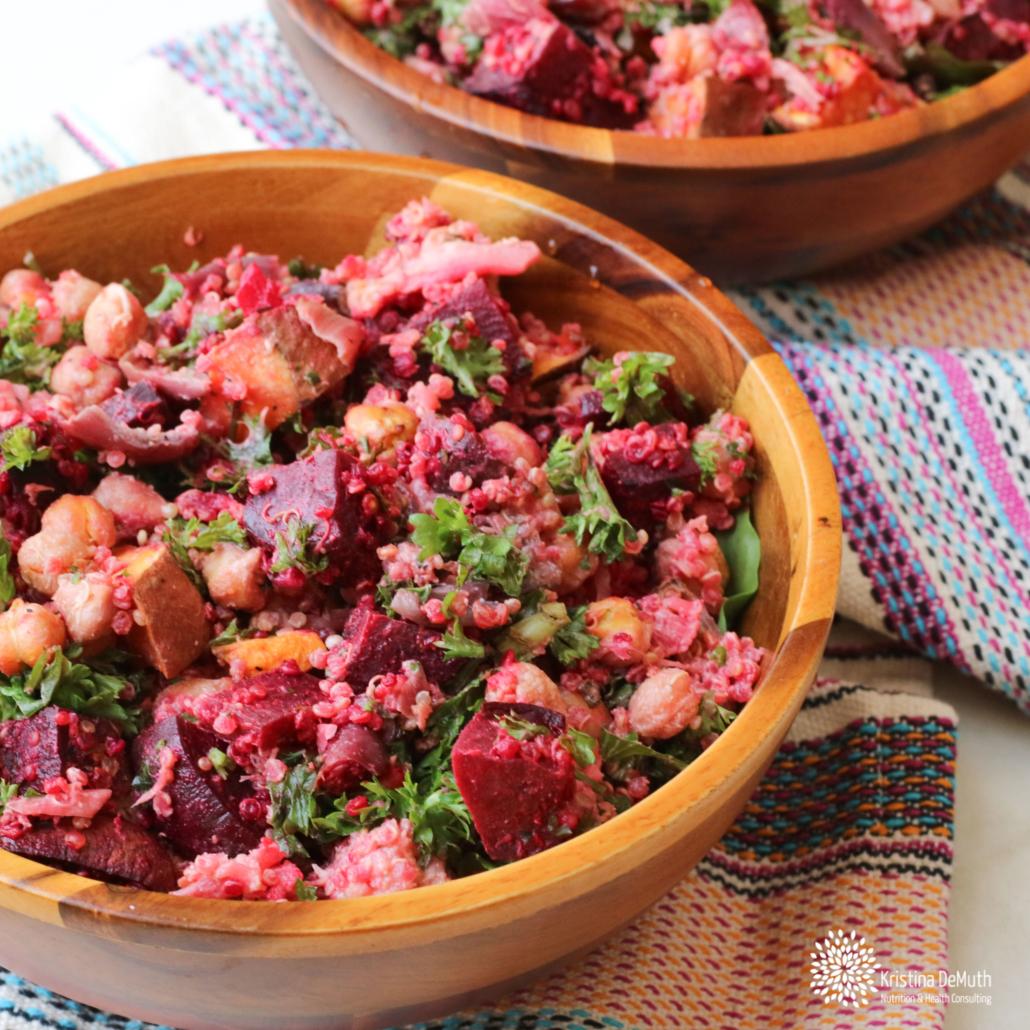 Whole Foods Roasted Vegetable Beet Salad