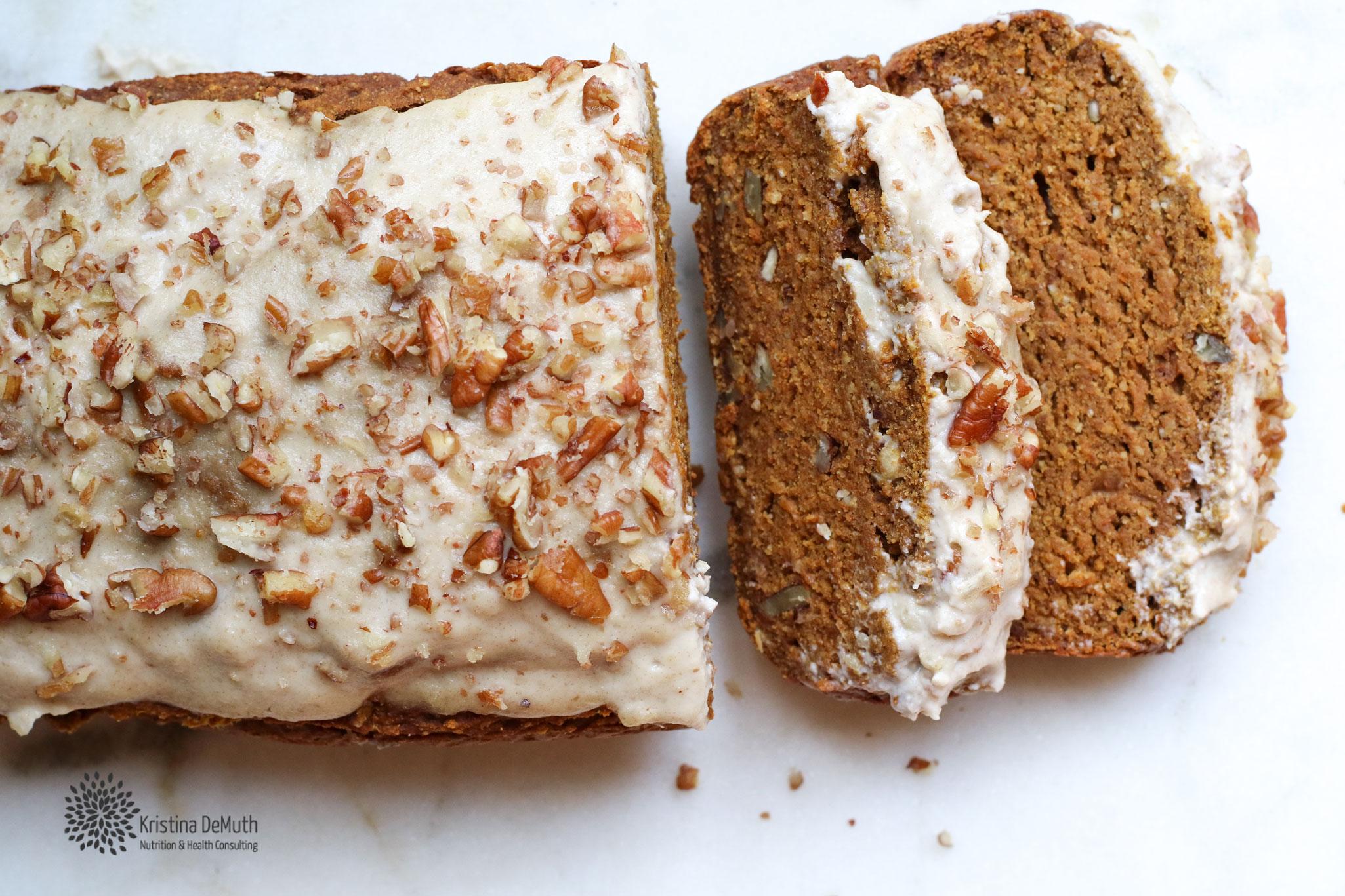 healthy Vegan Pumpkin Bread