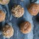 vegan gingerbread cookie dough bites