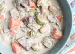 vegan savory sweet potato soup